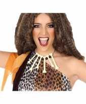Carnavalskleding holbewoners botten ketting accessoires roosendaal