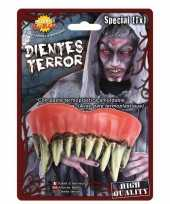 Carnavalskleding horror monster gebit neptanden halloween accessoire roosendaal