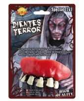 Carnavalskleding horror zombie gebit neptanden halloween accessoire roosendaal