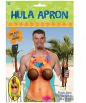 Carnavalskleding hula schort tropische dame roosendaal