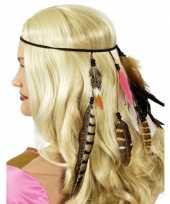 Carnavalskleding indianen hoofdband veren roosendaal 10079572
