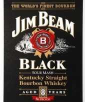 Carnavalskleding jim beam black bourbon muurplaat roosendaal