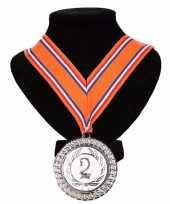 Carnavalskleding kampioensmedaille nr aan oranje rood wit blauw lint roosendaal 10091798