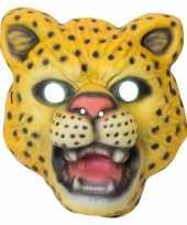 Carnavalskleding luipaard panter verkleed dierenmasker kinderen roosendaal