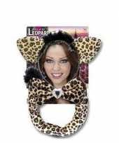 Carnavalskleding luipaard verkleed setje roosendaal