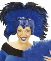 Carnavalskleding luxe hoofdtooi roosendaal