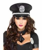 Carnavalskleding luxe politie pet pailletten roosendaal
