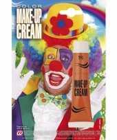 Carnavalskleding make up tube oranje roosendaal