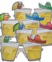 Carnavalskleding mexico bril tequila glazen roosendaal