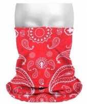 Carnavalskleding multifunctionele morf sjaal boeren zakdoek print roosendaal