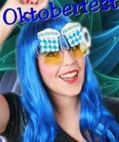 Carnavalskleding oktoberfest bril bierglazen roosendaal