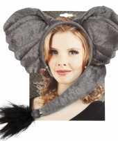 Carnavalskleding olifant verkleed setje roosendaal