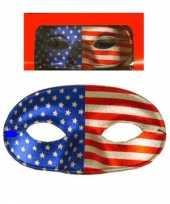 Carnavalskleding oogmasker amerika roosendaal
