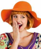 Carnavalskleding oranje flaphoed dames roosendaal