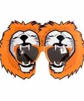 Carnavalskleding oranje fun bril leeuwen roosendaal