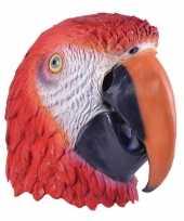 Carnavalskleding papegaaien masker volwassenen roosendaal