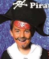 Carnavalskleding piraat schminken schminkset roosendaal