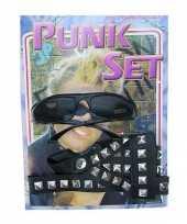Carnavalskleding punkers verkleed set roosendaal