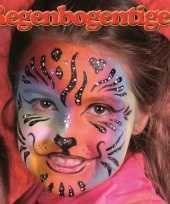 Carnavalskleding regenboog tijger schminken schminkset roosendaal