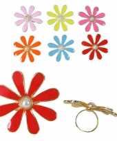 Carnavalskleding ring bloemetje roosendaal