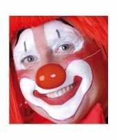Carnavalskleding rode clowns neus roosendaal