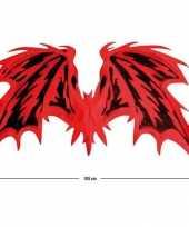 Carnavalskleding rode duivel vleugels roosendaal