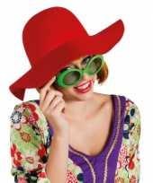 Carnavalskleding rode flaphoed dames roosendaal