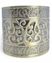 Carnavalskleding romeinse armband goud roosendaal