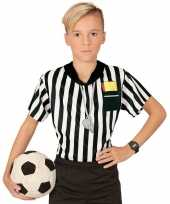 Carnavalskleding scheidsrechter verkleed shirt jongens roosendaal