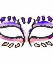 Carnavalskleding schmink tattoo sticker luipaard roosendaal