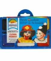 Carnavalskleding schminkset clown roosendaal