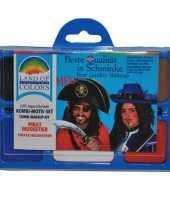 Carnavalskleding schminkset piraat roosendaal 10100097