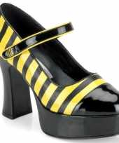 Carnavalskleding schoenen bijen motief dames roosendaal