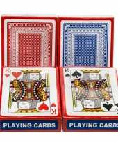 Carnavalskleding set poker kaartspel speelkaarten geplastificeerd roosendaal