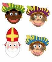 Carnavalskleding sinterklaas zwarte pieten sinterklaas maskers setje roosendaal