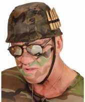 Carnavalskleding soldaten helm kogels roosendaal