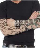 Carnavalskleding tattoo sleeves gothic volwassenen roosendaal