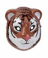Carnavalskleding tijger masker d plastic cm roosendaal