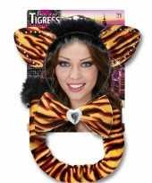 Carnavalskleding tijger verkleed setje roosendaal