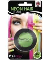 Carnavalskleding uv haarkrijt groen roosendaal