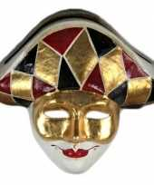 Carnavalskleding venetiaans masker harlekijn roosendaal