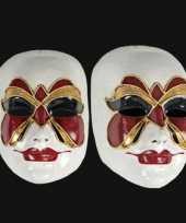 Carnavalskleding venetiaans masker vlinder roosendaal