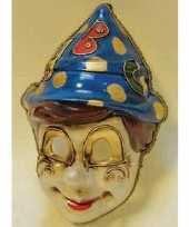 Carnavalskleding venetiaans pinocchio gezichtsmasker roosendaal