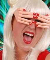Carnavalskleding vingerbril rode nagels roosendaal
