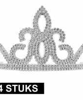 Carnavalskleding x prinsessen tiara zilver dames roosendaal 10145252