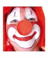 Carnavalskleding x stuks rode clowns neus neuzen foam roosendaal 10124149