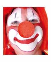 Carnavalskleding x stuks rode clowns neus neuzen foam roosendaal
