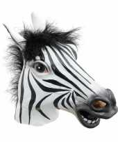Carnavalskleding zebra masker roosendaal