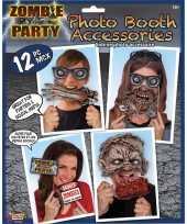 Carnavalskleding zombie foto prop set roosendaal