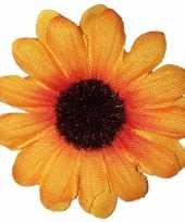 Carnavalskleding zonnebloem broche roosendaal